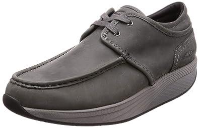 2558ac3938f5 MBT Shoes Men s Kheri 6S Lace Up Casual Shoe  Charcoal Grey 6 Medium (
