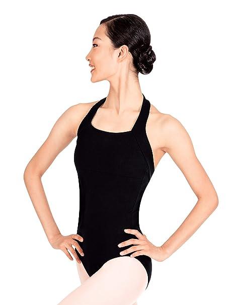 Amazon.com  Adult Halter Cotton Dance Leotard TH5508  Clothing a2cb378b9