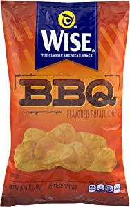 Wise Foods BBQ Potato Chips 8.75 oz. Bag (3 Bags)