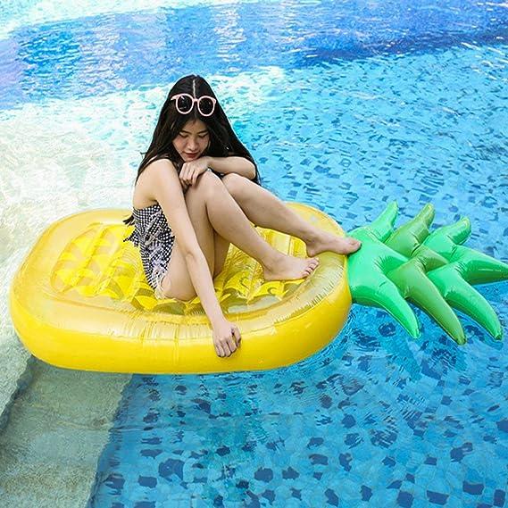 boby Inflable Piscina Flotador Gigante Colchoneta Hinchable Piscina Juguete para Adultos Rectangular Piña 196 x 86 x 16 Centímetros: Amazon.es: Juguetes y ...