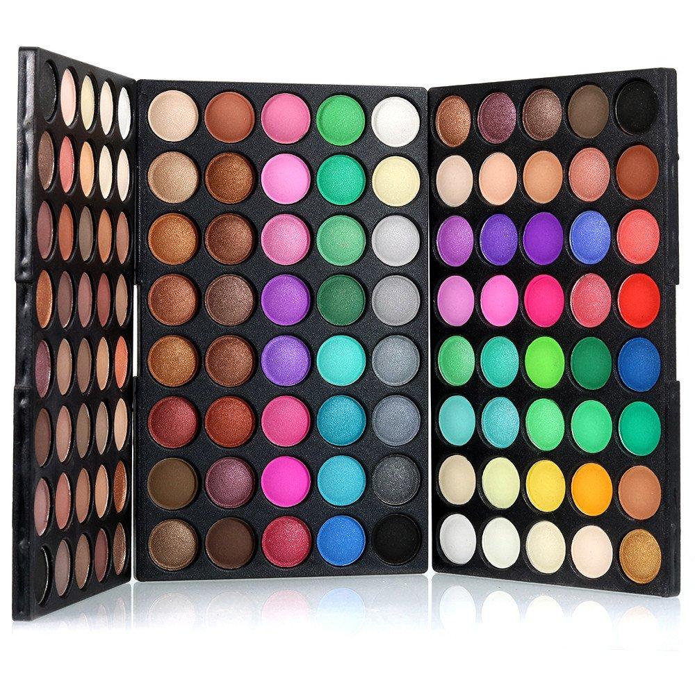 Libobo120 Colors Cosmetic Powder Eyeshadow Palette Makeup Set Matt Available