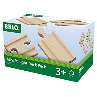 Brio World Railway Track - Mini Straight Pack: Toys & Games