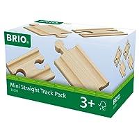 Brio 33393 - Pacchetto Binari Mini Dritti