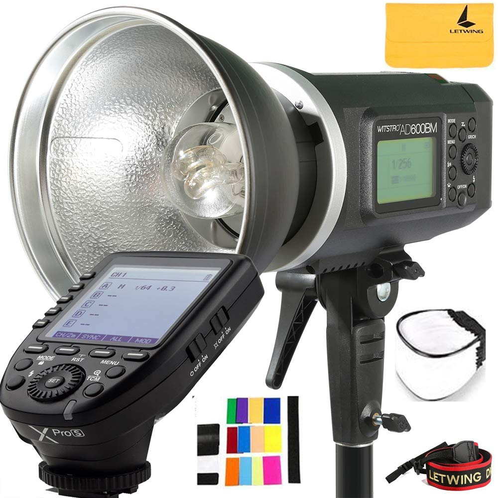 Godox AD600BM 600Ws GN87 HSS AD Sync 1/8000s 2.4G Wireless Flash Light Speedlite,Godox XPro-S 2.4G TTL Wireless Flash Trigger Compatible for Sony Camera by Godox (Image #1)