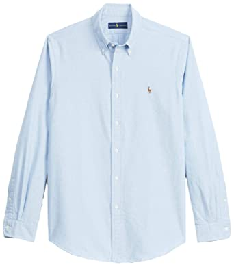 b29102d2bae Polo Ralph Lauren Men s Big and Tall Long Sleeves Classic Fit Oxford  Buttondown Shirt (2XLT