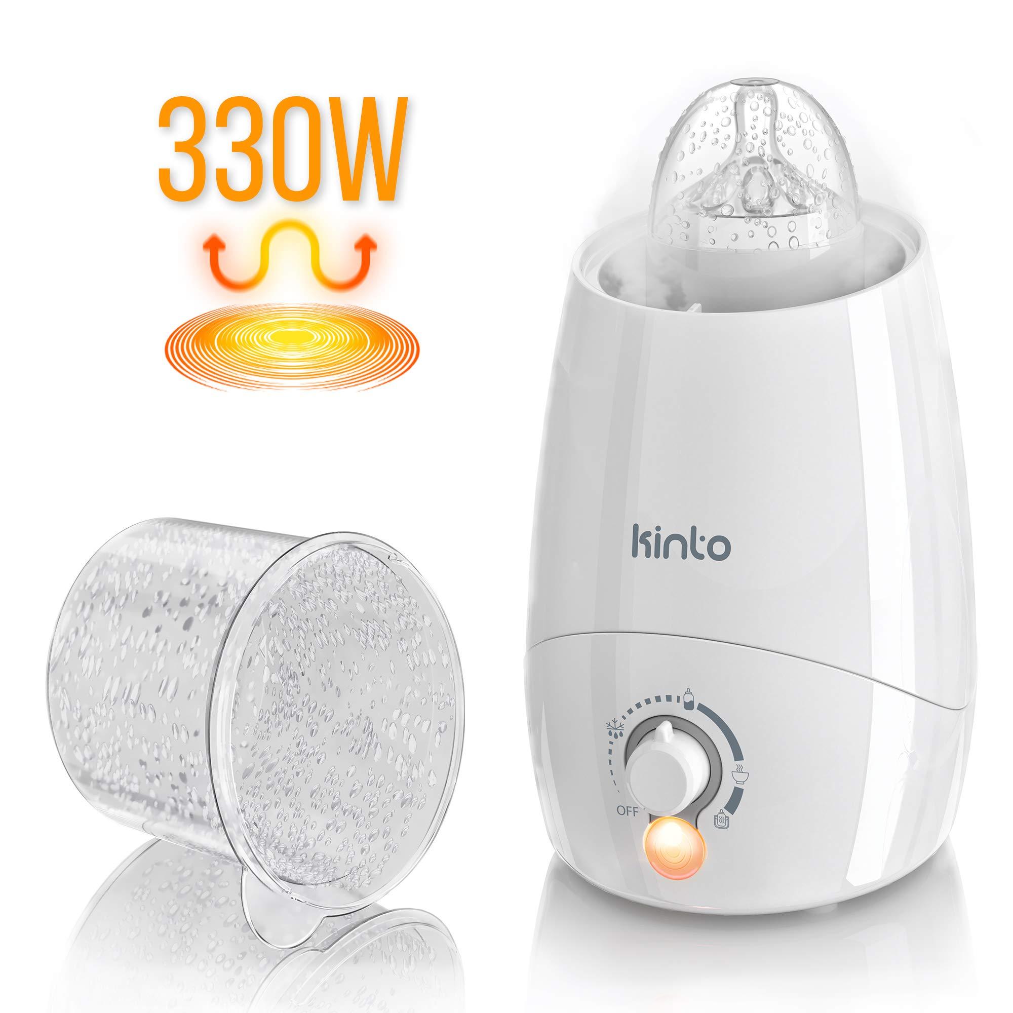 Fast Bottle Warmer for Breastmilk and Sterilizer - 4-in-1 - Breast Milk Baby Electric Bottle Warmer Prime by Kinto Tech