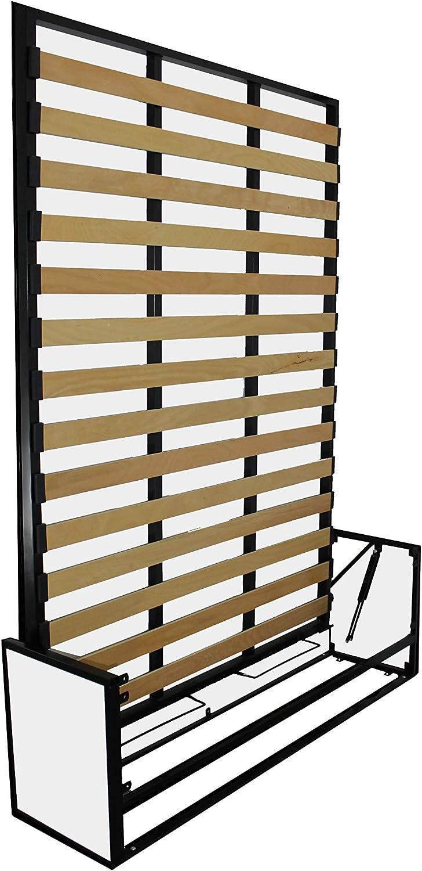 Wallbedking Cama doble vertical de estudio de pared de 135 cm x 190 cm, cama plegable, cama oculta, cama plegable: Amazon.es: Hogar