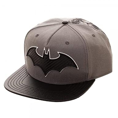 Amazon.com  Bioworld Batman Carbon Fiber Snapback Baseball Hat  Clothing 80ca7fb16a5