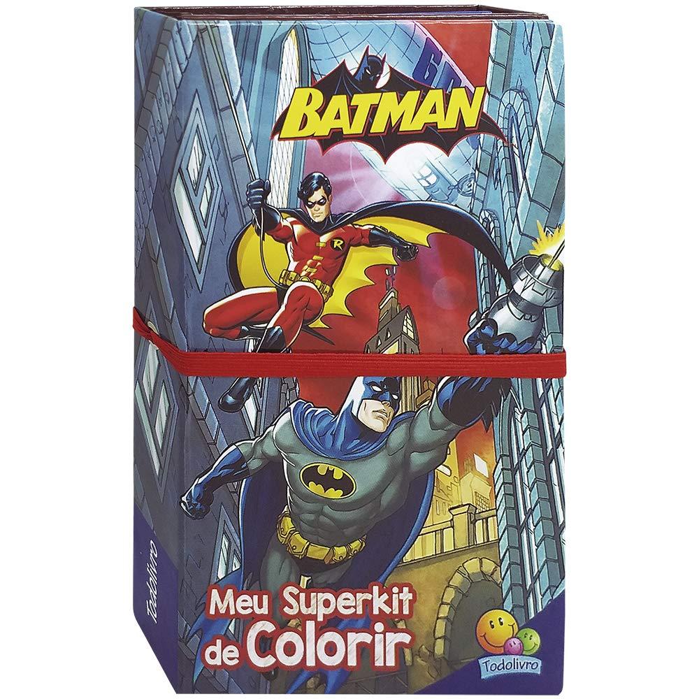 Meu Superkit De Colorir Licenciados Batman Warner Bros