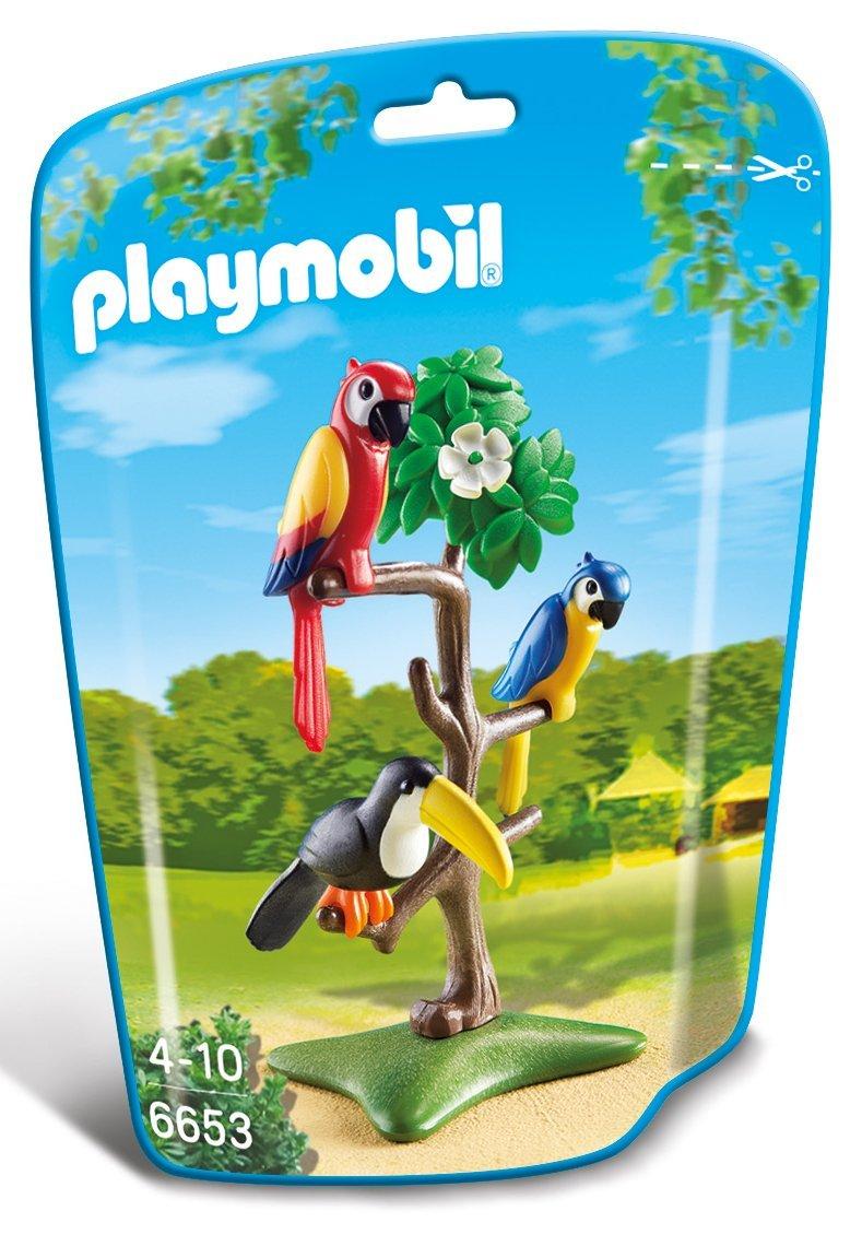 Playmobil Loros y tuc/án en el /árbol 6653