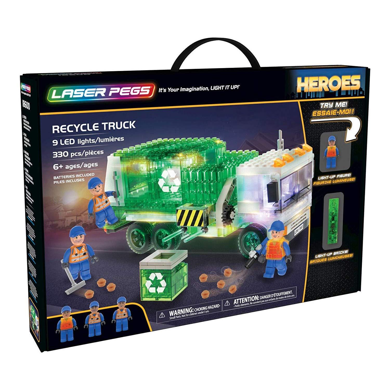 Garbage Laser Pegs 18600 Construction Kit