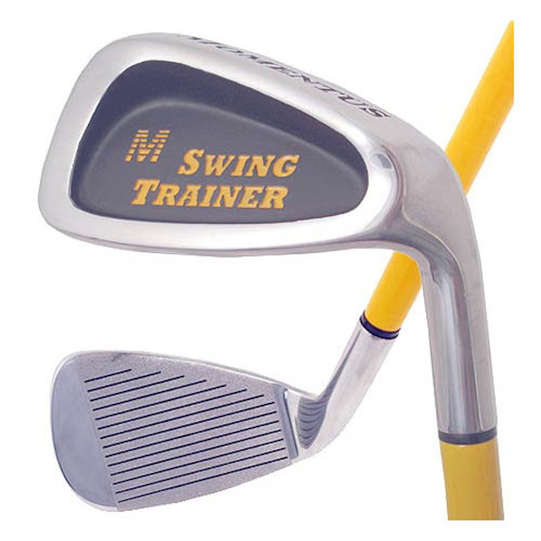Momentus Golf(モメンタス ゴルフ) スイングトレーナー アイアン(Swing Trainer) 練習機 右利き用 トレーニンググリップ(小)35インチ 40オンス   B003K1LYKG