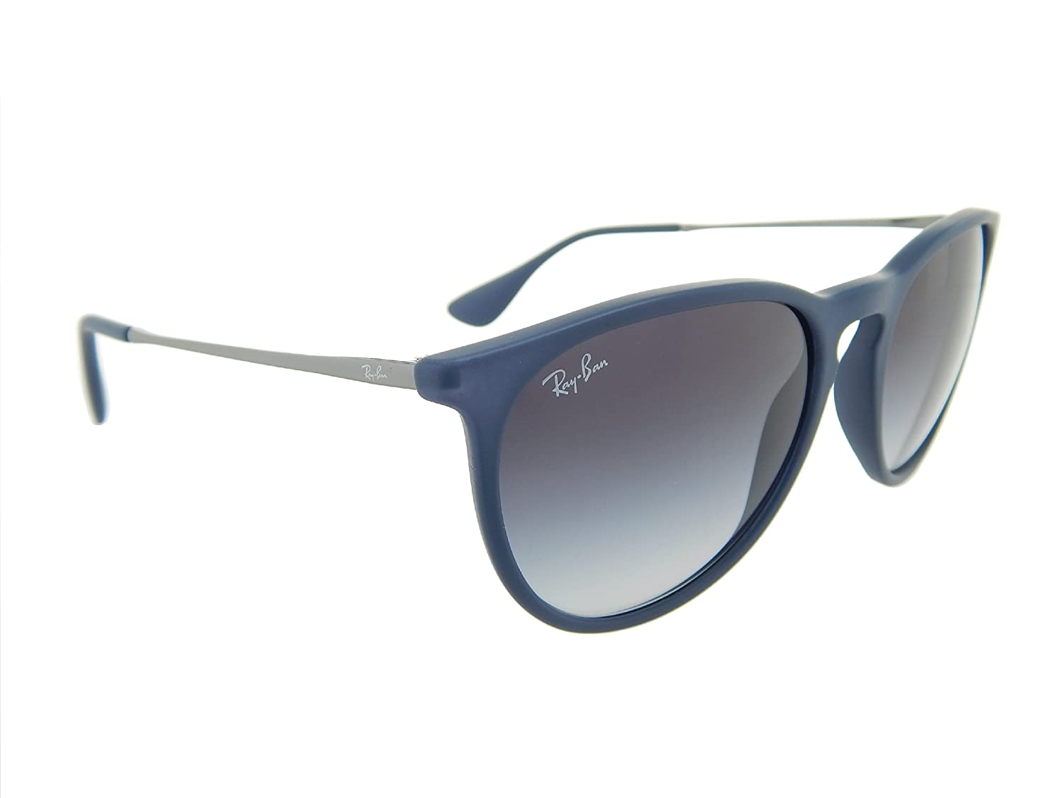 0e05f86e17b Amazon.com  New Ray Ban Erika Rubber RB4171 60028G Blue Grey Gradient Lens  54mm Sunglasses  Shoes