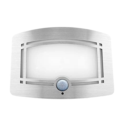 DECKEY Apliques Lamparas Solares con Sensor de Movimiento 1W Impermeable IP65 con10 LED