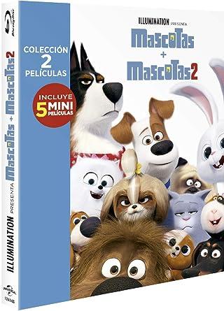 Pack: Mascotas 1+2 (BD) [Blu-ray]: Amazon.es: Patton Oswalt, Kevin ...