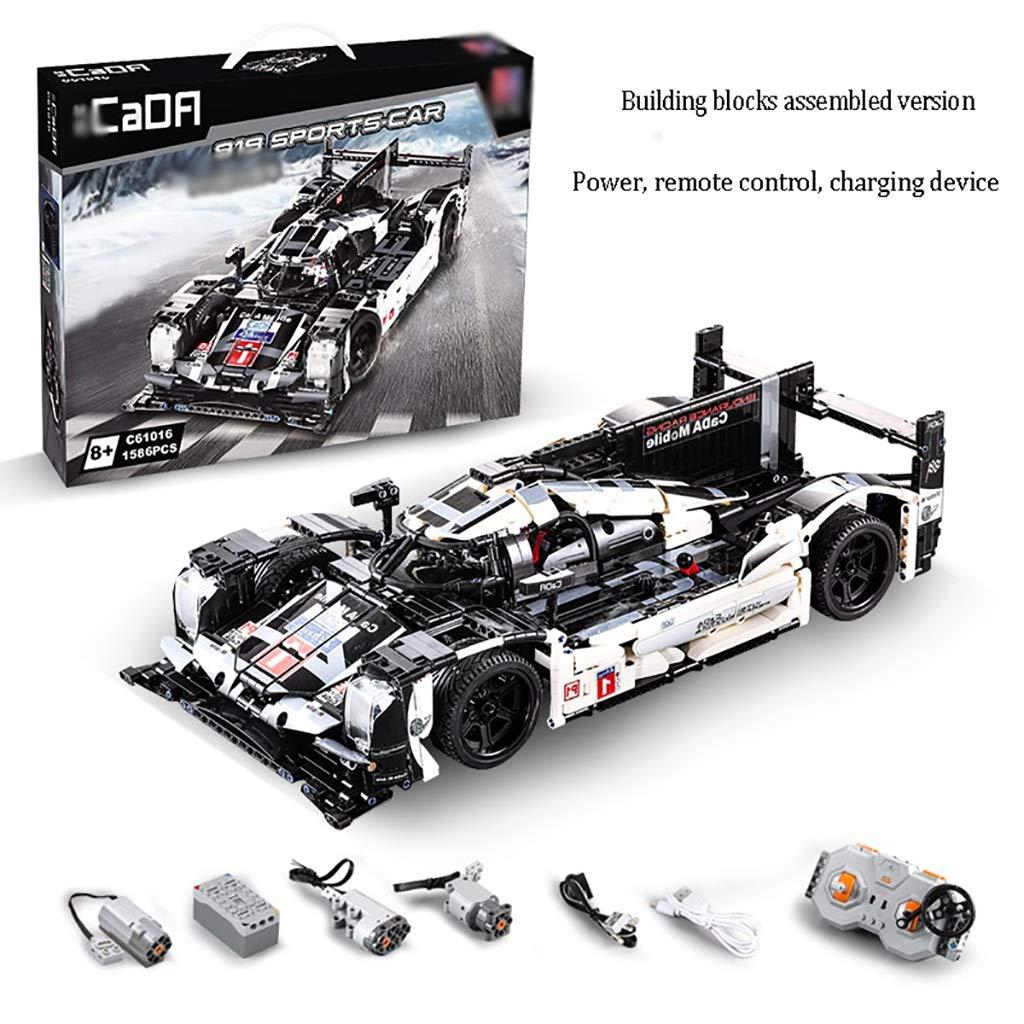 ずっと気になってた ビルディングブロック知育玩具、919レーシングモデルの機械アセンブリ (、大部分、正確な高さ ( B07QQYC2XC Color : : A ) B07QQYC2XC, heaven2002:891a429c --- vezam.lt
