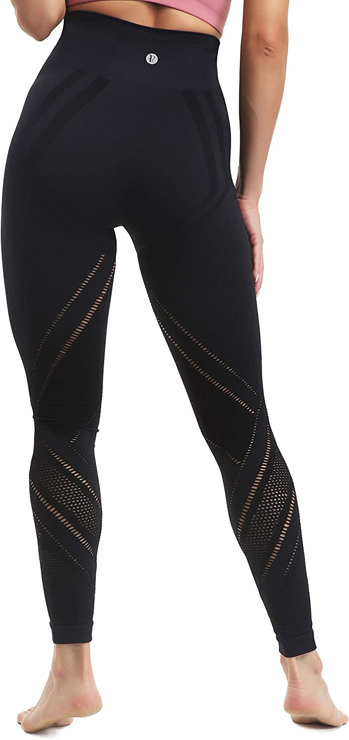 Workout Power Flex Tummy Control Fit Compression Athletic Leggings RUNNING GIRL Women/'s High Waist Yoga Pants