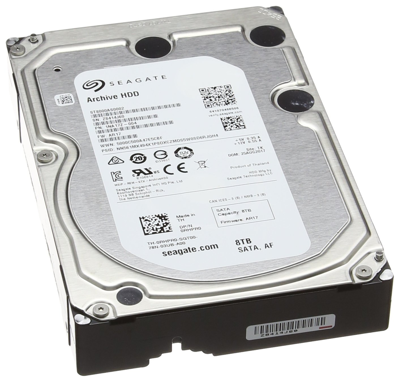 8,9 cm , SATA serial ATA 6GB//s 128MB cache Seagate Archive HDD 6 TB interne Festplatte 3,5 Zoll
