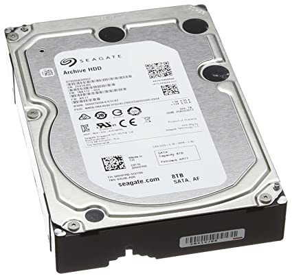 Seagate Archive HDD 8TB SATA 6GBps 128MB Cache SATA Hard Drive  (ST8000AS0002)