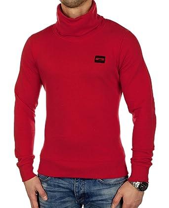 cddb1dbdbdd94 JACK   JONES La Camiseta Hombres suéter Rojo 12106807  Amazon.es ...