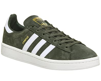 super popular a7b73 07547 adidas Campus W, Sneakers Basses Femme, Vert (St Major F13ftwr Chalk