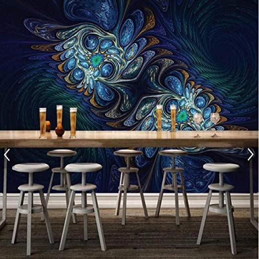 Yologg Deslumbrante Flor Mesa De Café Diseño De Escritorio Murales ...