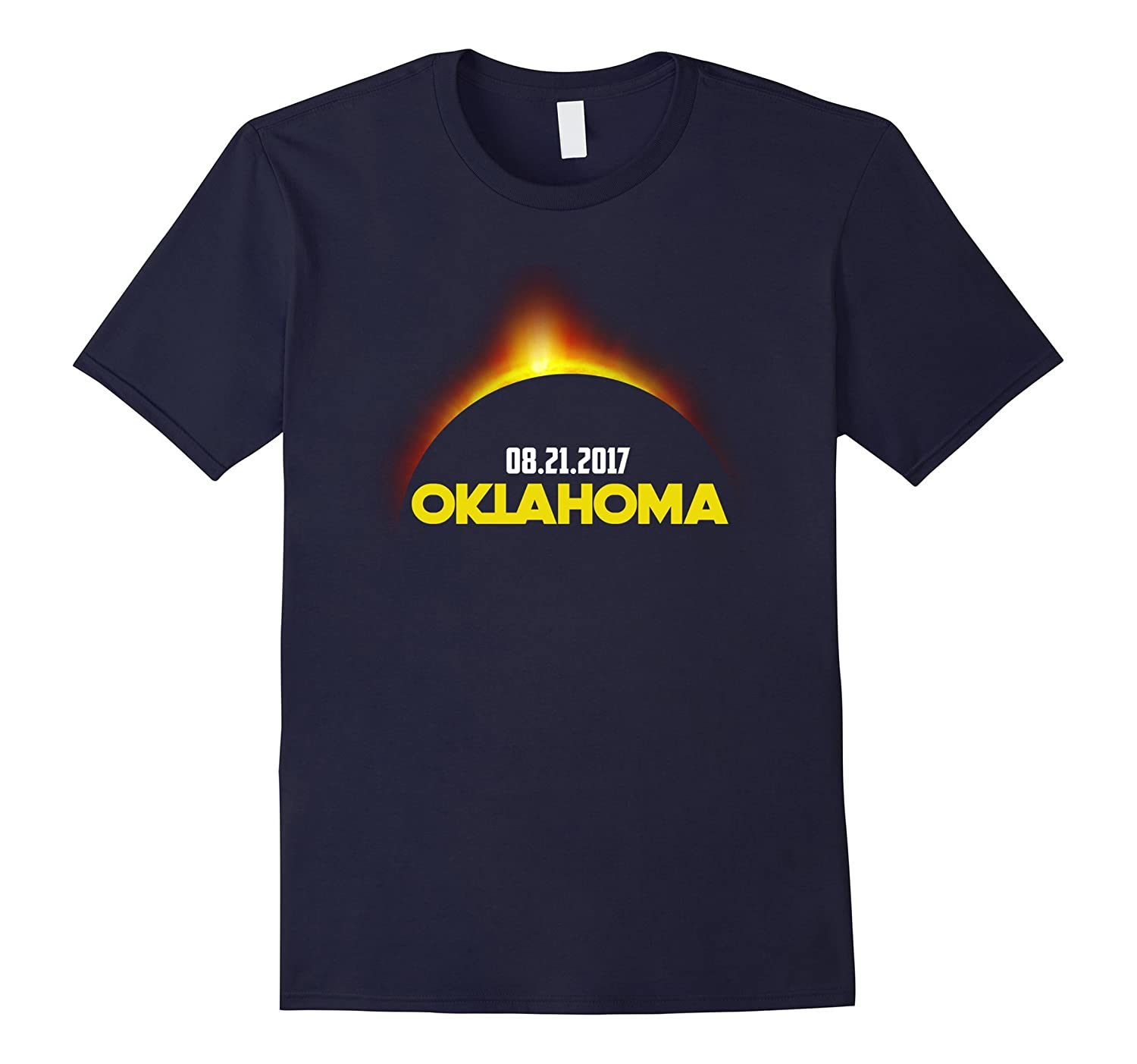 Oklahoma Solar Total Eclipse August 21 2017 US T-shirt-BN