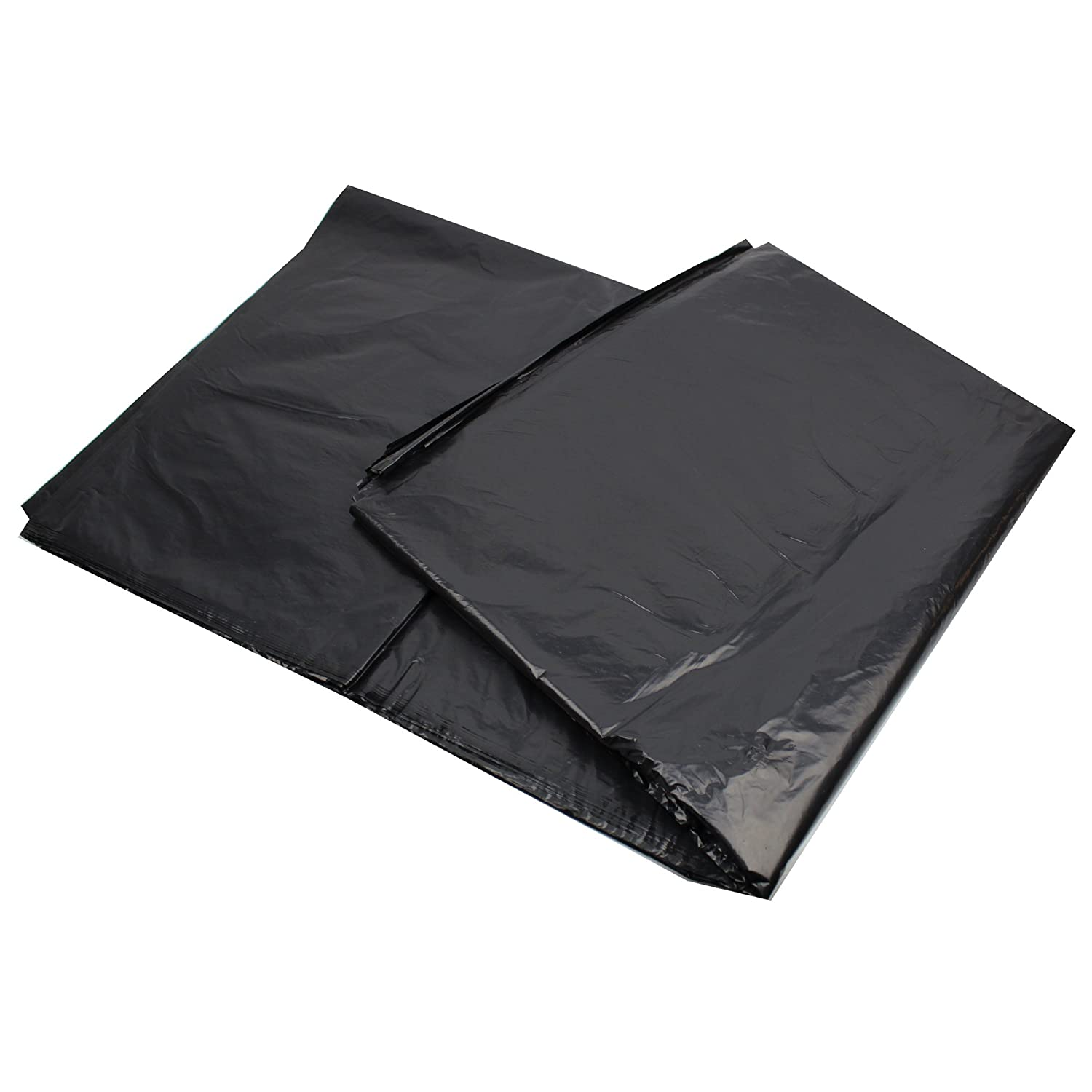 240L Black Wheelie Bin Liners/Bags - Pack of 25 refuse sacks - Strong professional black - ENSA 12kg Auntie Morags