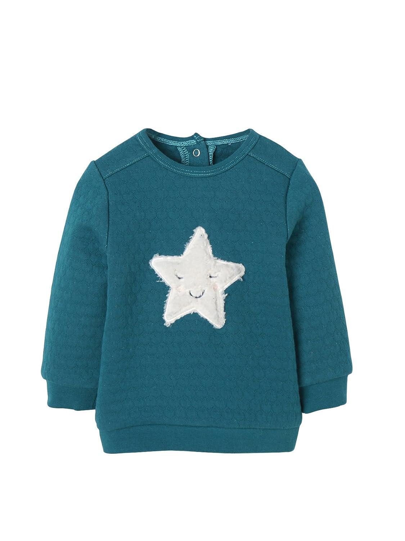 Vertbaudet Wattiertes Sweatshirt Baby Mädchen