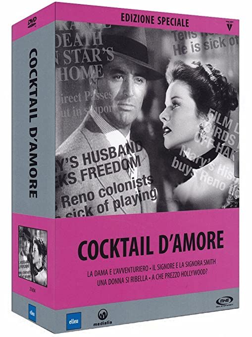 Amazon.com: Cocktail DAmore Collection (4 Dvd): carole lombard, neil hamilton, george cukor: Movies & TV