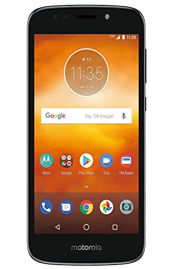 ae03f63fe Amazon.com  Virgin Mobile Moto e5 Play 5.2 HD Touchscreen