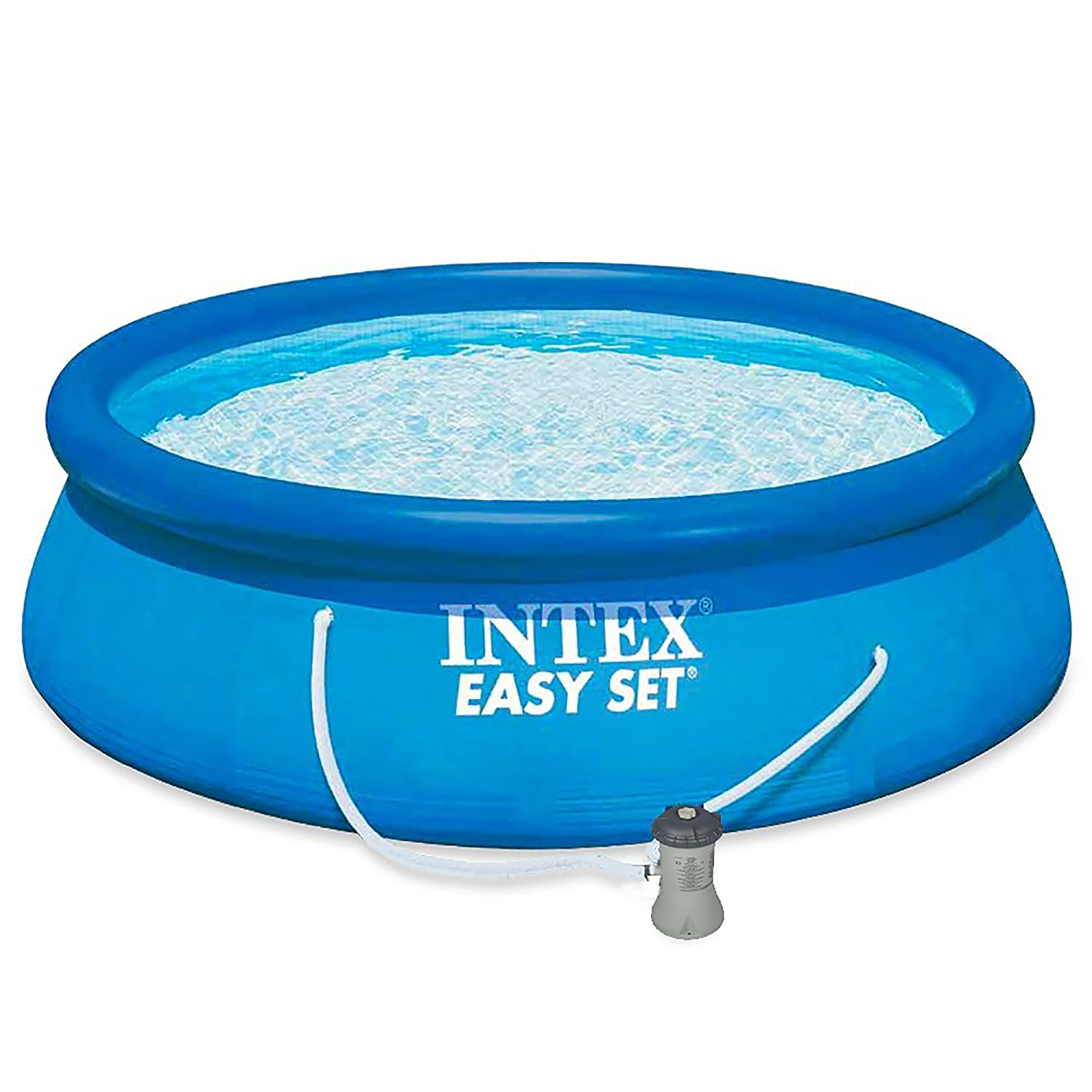 Intex 28142NP Easy Set - Piscina hinchable, 7.290 litro, 396 x 84 cm: Amazon.es: Jardín