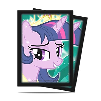 Ultra Pro My Little Pony: Twilight Sparkle Deck Protector Sleeves (65 ct.): Toys & Games