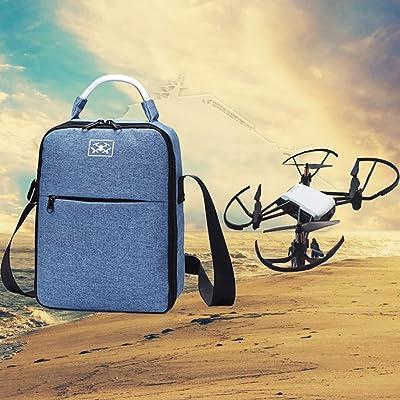 Amz_fr® Pour DJI Tello Sacs de Rangement Sac à bandoulière à bandoulière UAV Accessoires Boîte de rangement dédiée à l'aéronautique Sac fourre-tout portable im