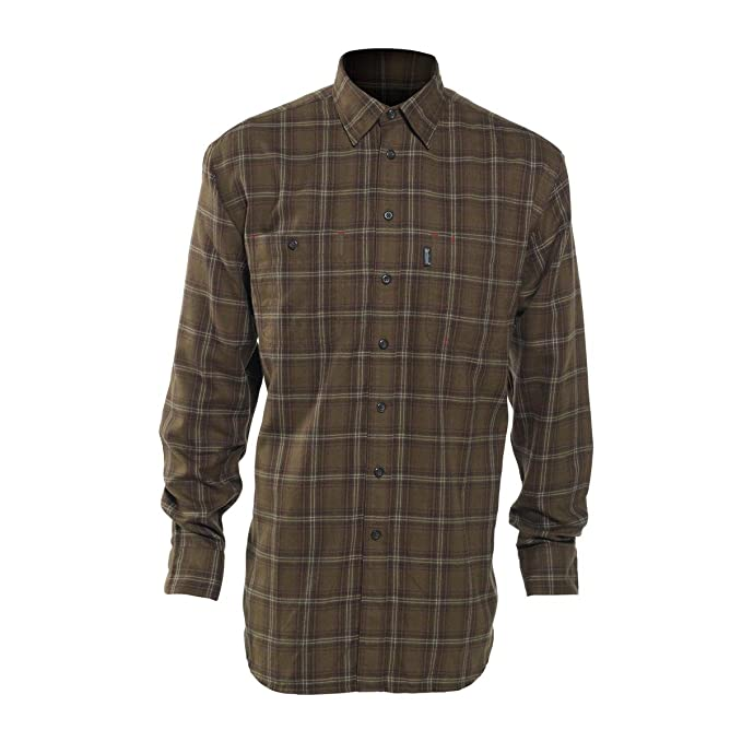Deer Hunter Bennett Camisa Manga Larga 8677, DH 399 Green Check ered: Amazon.es: Ropa y accesorios
