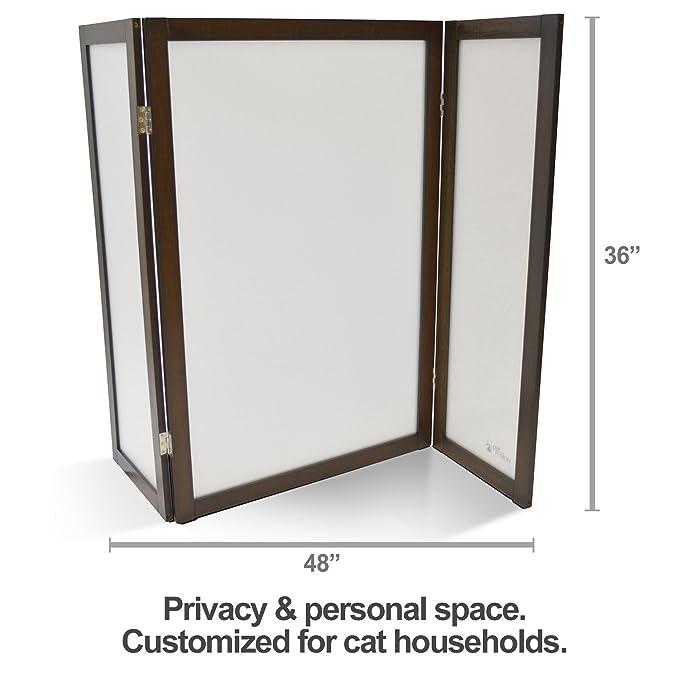 Amazon.com: PetFusion ModestCat caja de arena pantalla de ...