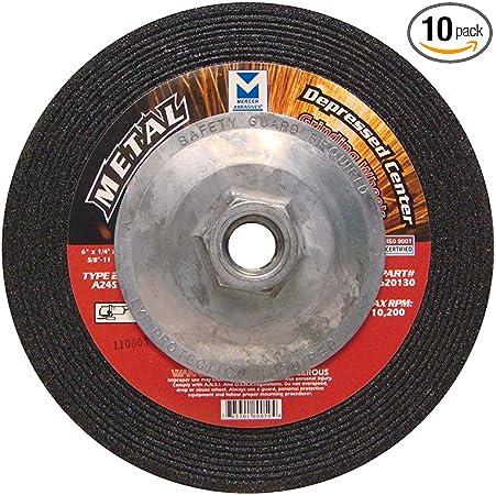 """10 pk 4/"""" Industrial Grinding Wheels for Metal"""