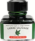J. Herbin Fountn Pen Ink 30Ml Lierre Sauvage