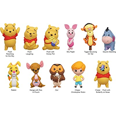 Disney Winnie The Pooh - 3D Foam Bag Clips in Blind Bags - Sold by PDQ of 24 pcs: Toys & Games