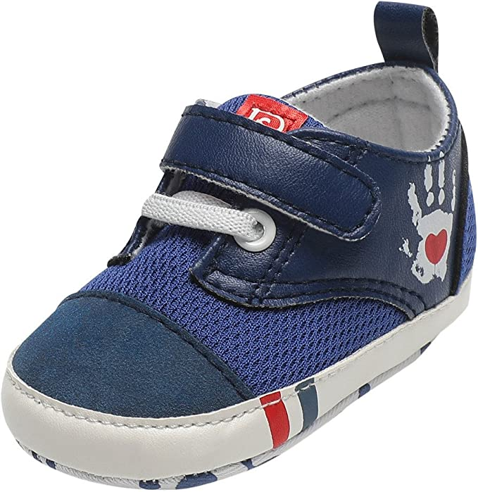 Infant//Toddler Lurryly❤Newborn Baby Premium Soft Sole Sneaker Prewalker Anti-Slip Shoes