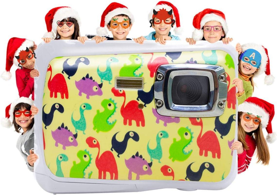 Kids Waterproof Camera, Vmotal Digital Camera for Kids 2.0 Inch TFT Display Children Kids Digital Camera (DI)