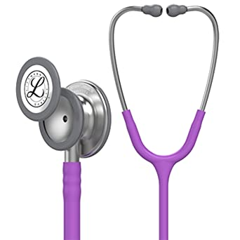 3 M Littmann  Classic Iii Monitoring Stethoscope, Lavender Tube, 27, Inch, 5832 by 3 M Littmann