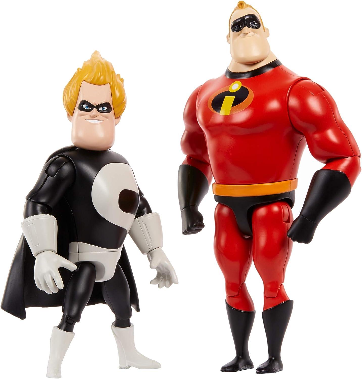 Amazon Com Disney Pixar Gmd18 Disney Pixar Incredibles Nemesis Pack Multi Colour Toys Games