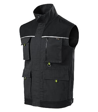 Rimeck Herren Arbeitsweste Woody Arbeitskleidung//Weste