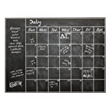Amazon Price History for:Connect Software Chalkboard Calendar Wall Decal - Perfect Blackboard Organizer