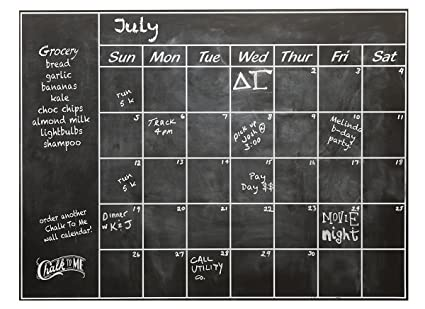 Charmant Connect Software Chalkboard Calendar Wall Decal   Perfect Blackboard  Organizer