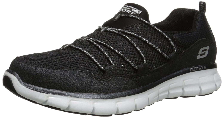 Skechers Sport Inner Peace Fashion Sneaker  8 B(M) US|Black/White