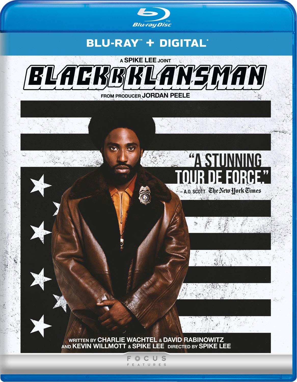 Image result for blackkklansman blu ray