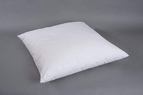 Edredón Cojín Lisa 80 x 80 cm Cojín relleno almohada algodón ...