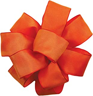 product image for Offray Wired Edge Gelato Craft Ribbon, 1-1/2-Inch Wide by 25-Yard Spool, Torrid Orange